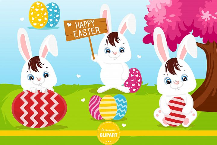 Easter illustrations, Easter graphics