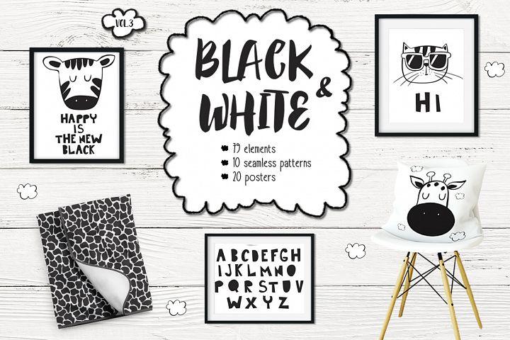 Black and white set (vol.3)