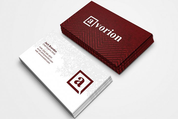 Creative Firm Business Card 3