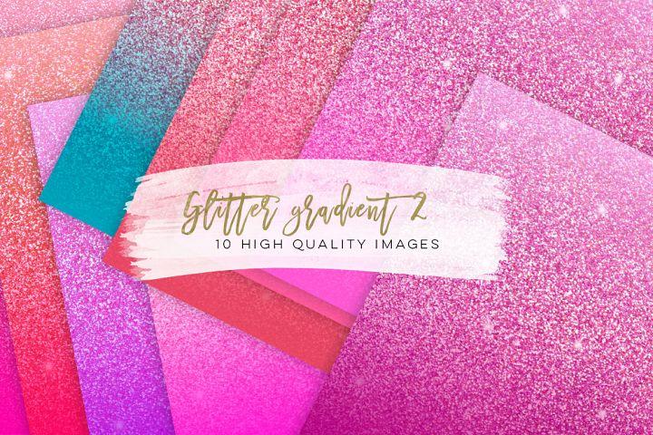 Glitter gradient texture, pink glitter paper, pink Scrapbook Paper, Glitter Digital rainbow paper, Gradient Scrapbook, pink sticker planner