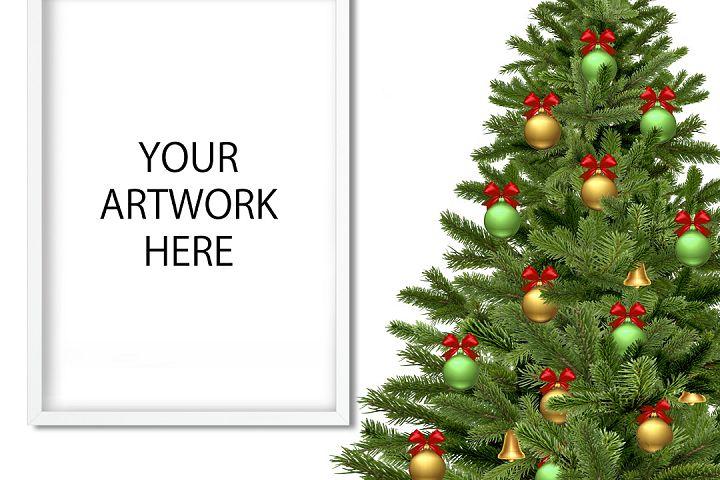 Christmas Mockup Frame for Etsy / Instagram example 2
