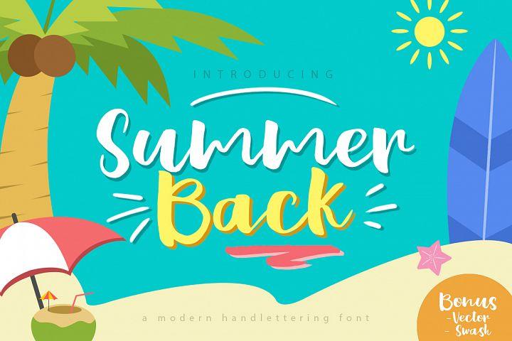 Summer Back Script