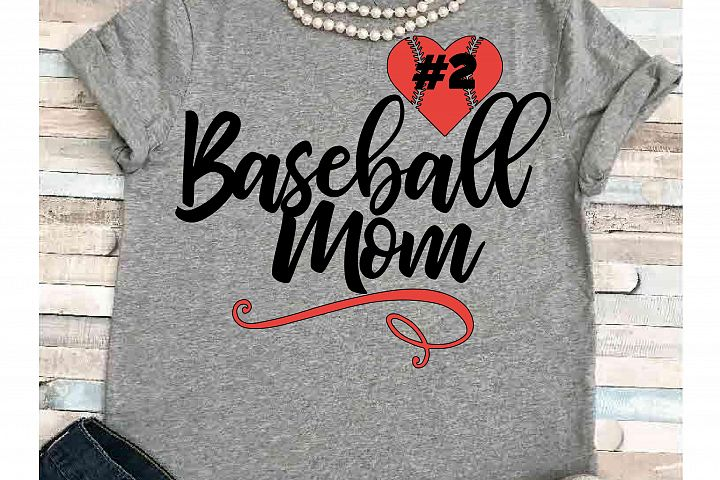 Baseball svg SVG DXF JPEG Silhouette Cameo Cricut Baseball mom svg iron on baseball Heart svg