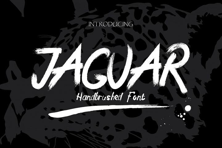 Jaguar Typeface + Swashes