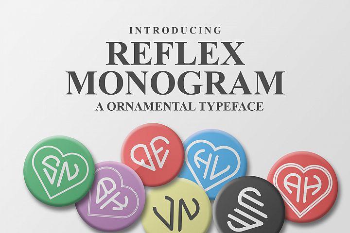 Reflex Monogram Font