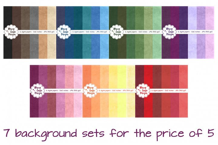 Chalkboard Backgrounds in 42 colors