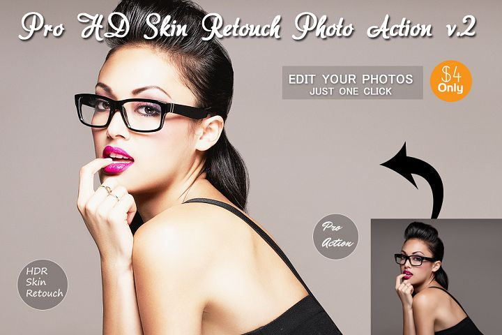 Pro HD Skin Retouch Photo Action v.3
