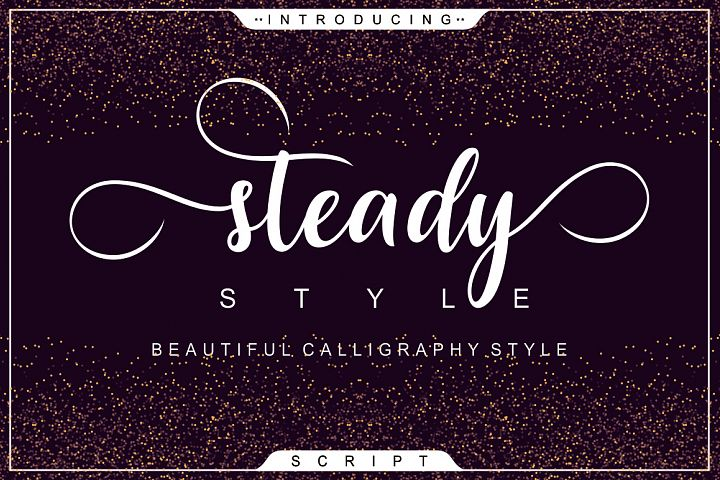 Steady Style Script