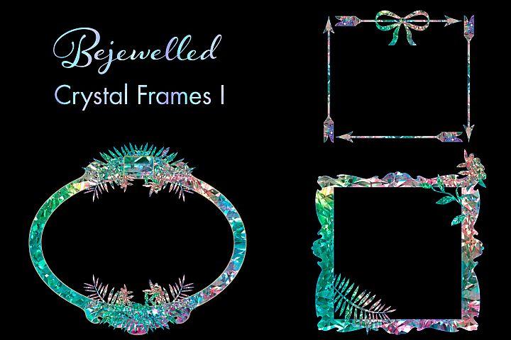 Bejewelled Crystal Frames I