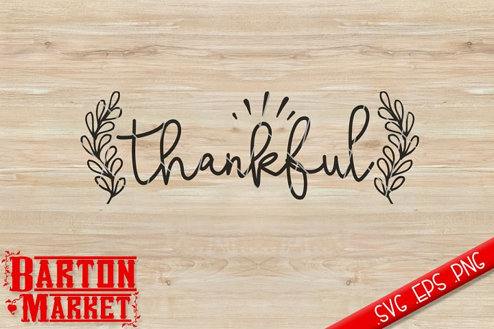Thankful SVG / EPS / PNG
