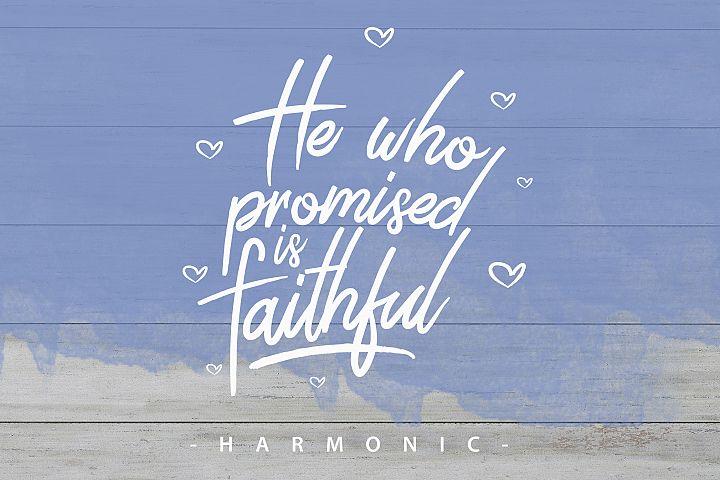 Harmonic Script