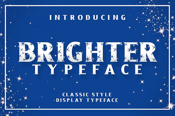 Brighter Typeface