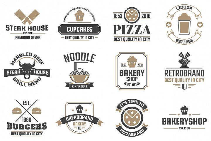 60 Vintage Logo Set example 10