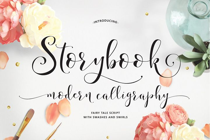 Storybook Calligraphy