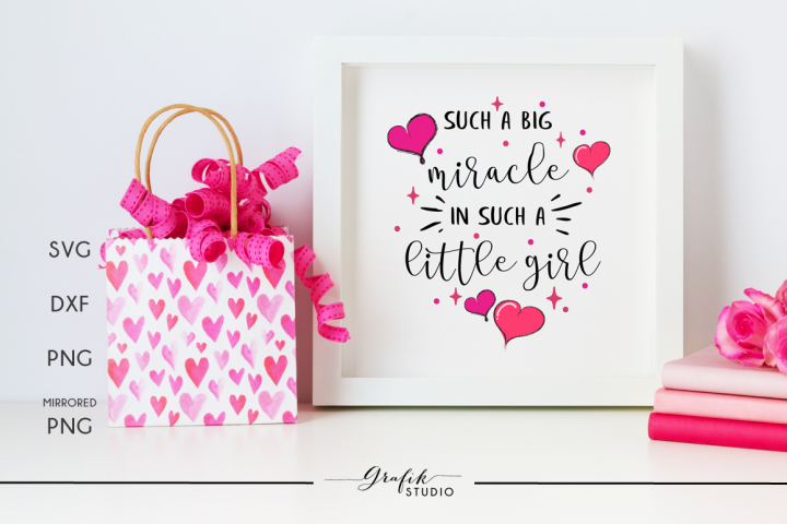 Such a big miracle baby nursery quote svg