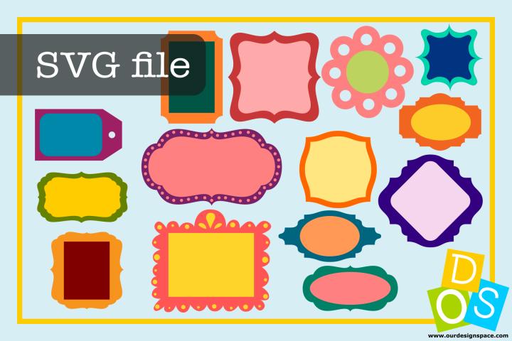 SVG file frames & Tags