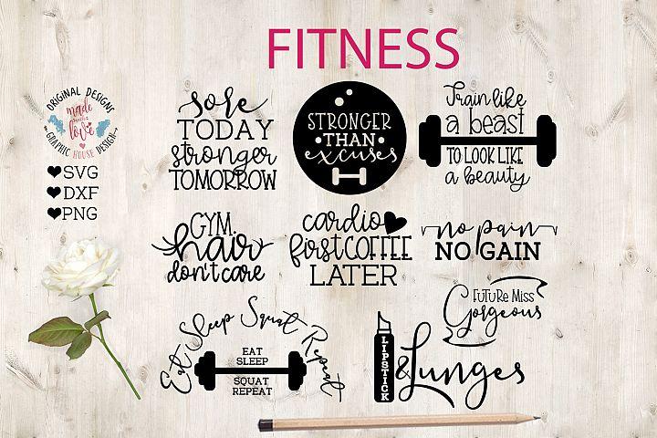 Fitness Gym Mini Bundle