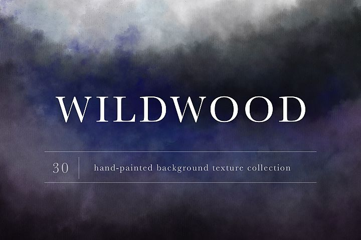 Wildwood Hand-Painted Texture Collection