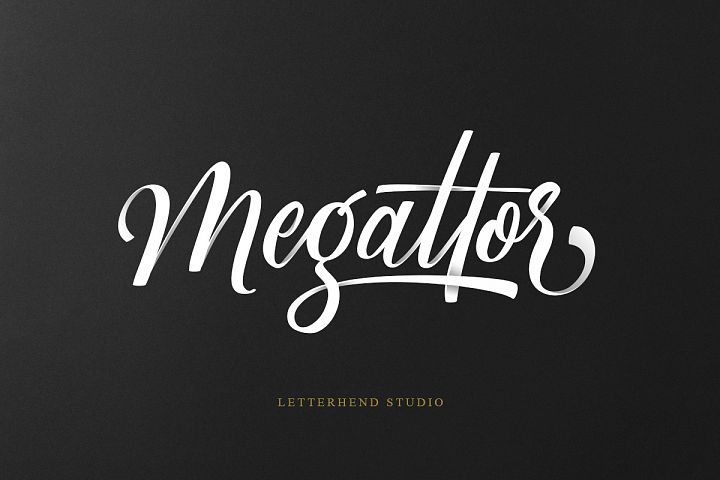 Megattor typeface