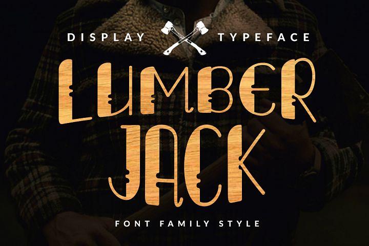 Lumberjack Family Font Set