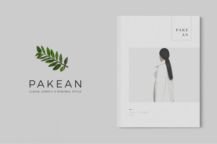 PAKEAN | Minimal Lookbook/Magazine