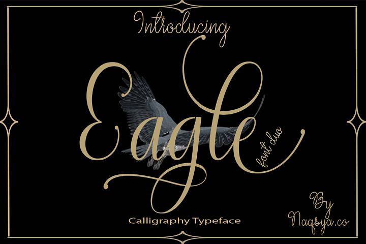 Eagle Font duo