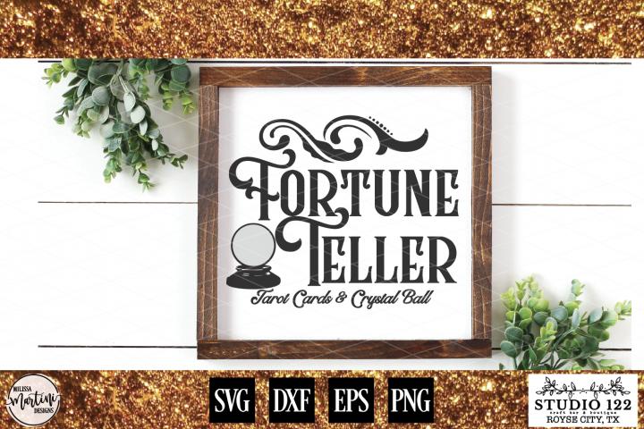 Fortune Teller Halloween Sign