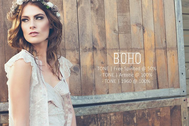 Boho Mini Action Collection example 3