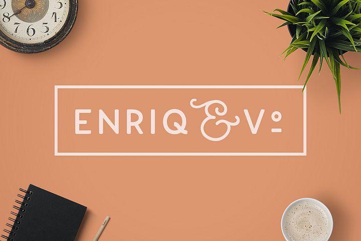 Enriq Round Sans Serif Font