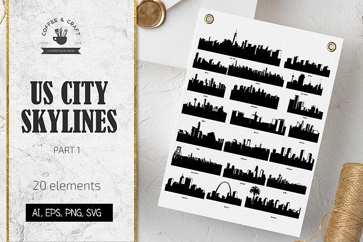 US City Skylines Part 1