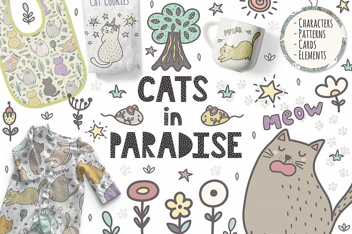 Cats in Paradise Collection