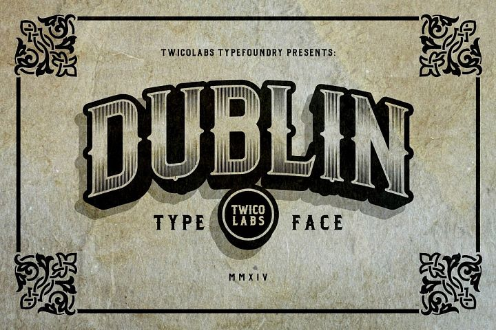 Dublin - Free Font of The Week