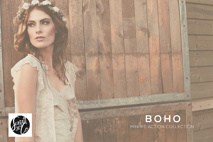 Boho Mini Action Collection example 1