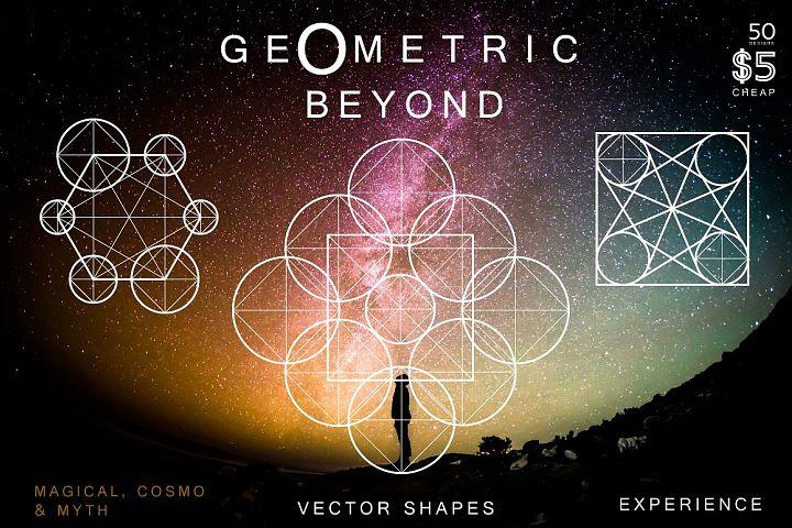 50 Geometric Symbols & Magic Shapes