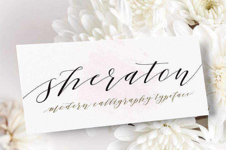 Sheraton Script