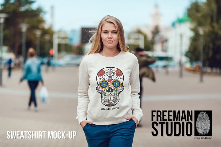 Sweatshirt Mock-Up Vol. 1