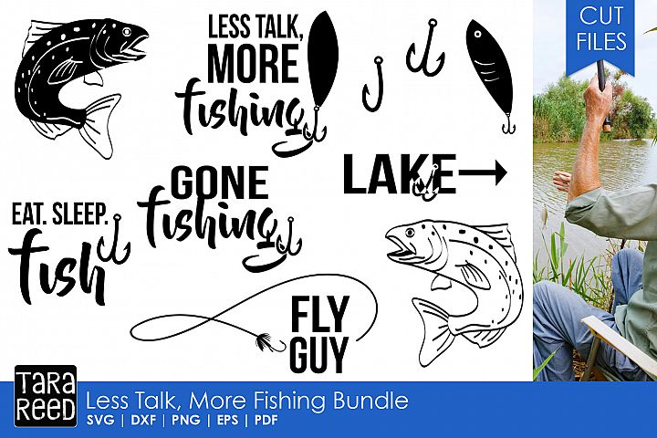 Less Talk More Fishing Bundle