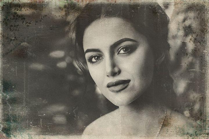 Vintage Old Photo Effect Overlays - Free Design of The Week Design 1