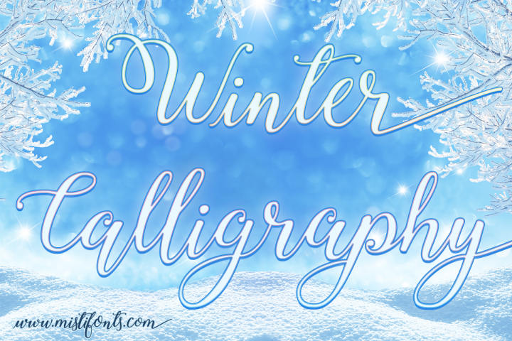 Winter Calligraphy
