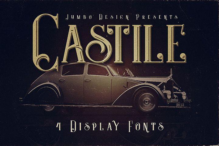 Castile - Display Font