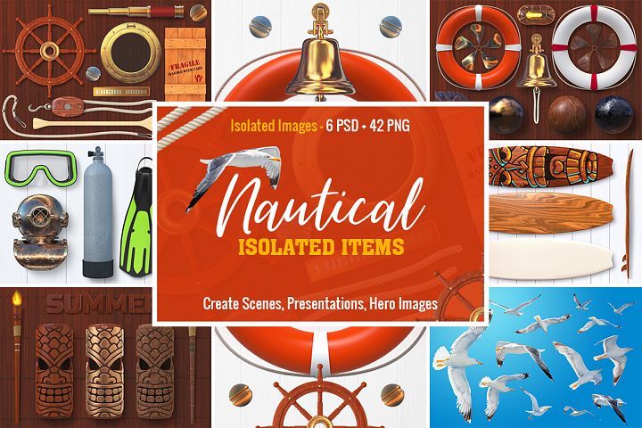 Isolated Nautical Items