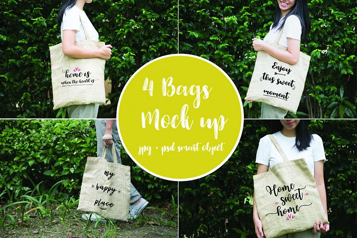 4 bags mock up