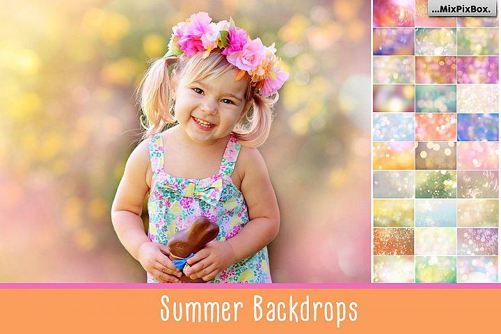 Summer Backdops
