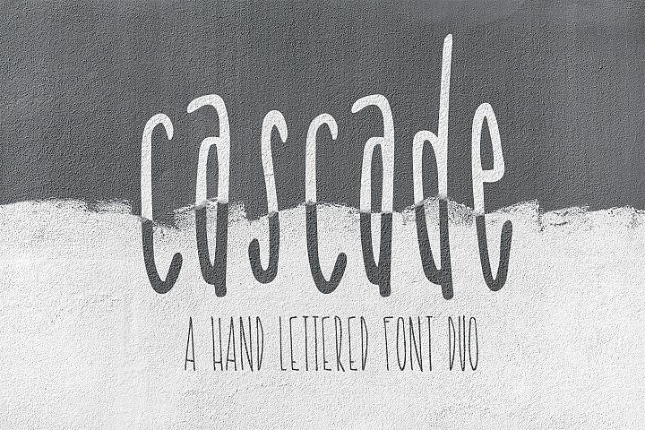 Cascade Font Duo