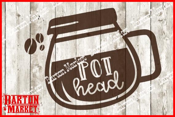 Pot Head SVG / EPS / PNG