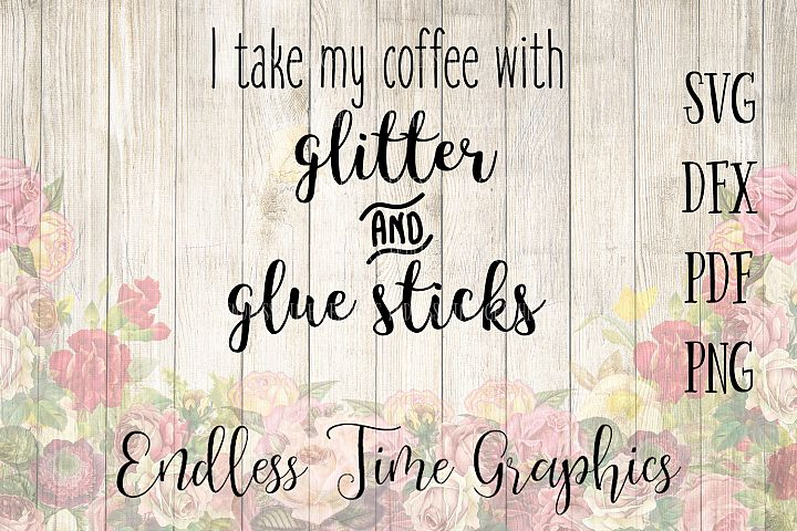 Coffee SVG Cut File. Coffee DXF Cut File. Decal for Coffee Cup. Coffee Digital Decal. Glitter SVG. Coffee Cut File. Coffee Digital Download