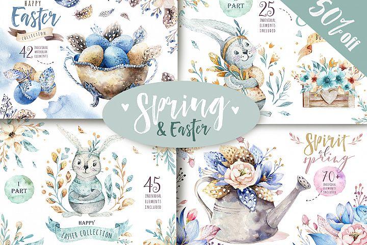 Spring & Easter BUNDLE 50% off