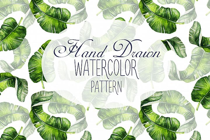 16 Hand Drawn Watercolor Pattern