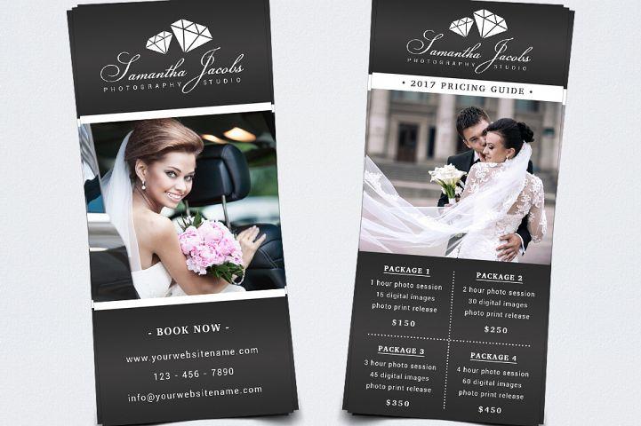 Photography Rack Card Template