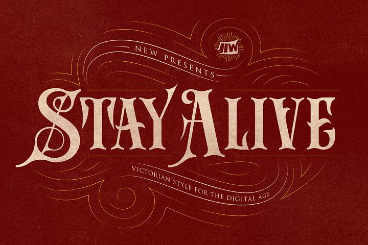 Stay Alive Typeface